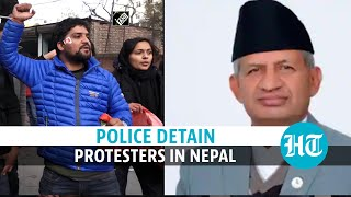 Nepal: Protest against PM Oli in Kathmandu; Foreign minister on India visit