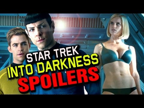 Star Trek Into Darkness SPOILER Review - The Flick Pick and Chris Stuckmann poster