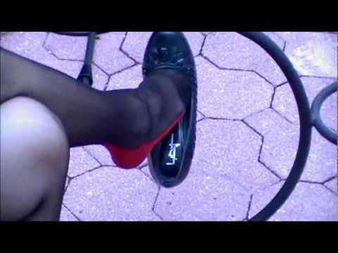 """JULIE DANGLES 4"""" HEELS WEARING BLACK STOCKINGS Pt 2 from YouTube · Duration:  5 minutes 8 seconds"""