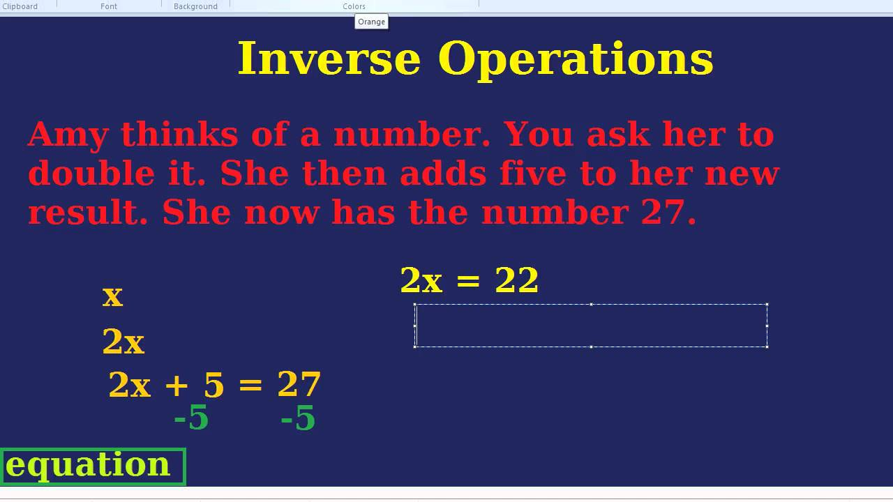 what does inverse mean in algebra