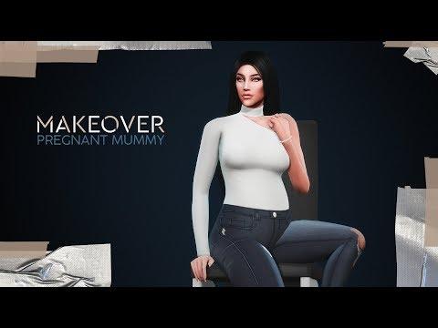 БЕРЕМЕННАЯ МАМУЛЬКА - MAKEOVER 🤰\The Sims 4: Династия Кингстон (+ CC List)