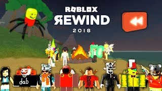 I ACTED IN ROBLOX REWIND 2018!
