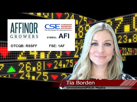 Affinor Growers (CSE: AFI) signs a non-exclusive licensing agreement with a private Alberta company