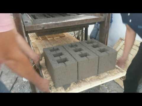 Вибропресс для производства блоков своими руками