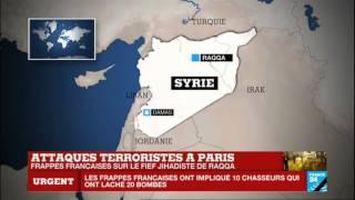 #URGENT - Bombardement massif français sur le fief du groupe État islamique à Raqqa