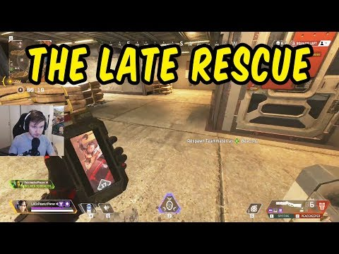 Late revive gets us the win - Apex Legends w/Teo, Sammy & Lukas
