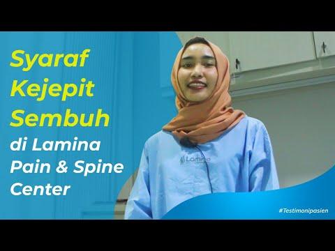 Syaraf kejepit tulang belakang SEMBUH, masalah pundak punggung pinggang juga SEMBUH.