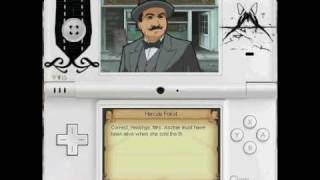 Agatha Christie: The ABC Murders DS - Gameplay 1 [RIDDLE 1, 2, 3]