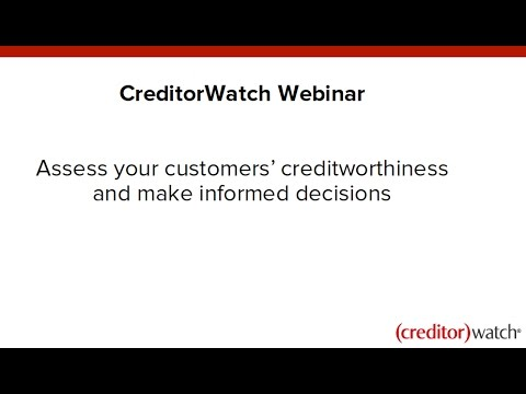 Assess your customers' creditworthiness and make informed decisions