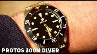 Protos 300M Automatic Dive Watch Rolex Submariner 1950