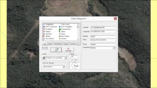 GPS TrackMaker® Importação DXF