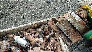 Инструмент с металлолома. Запасы старого фрезеровщика