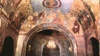 Успенский собор города Владимира(В успенском соборе сохранились уникальные фрески Андрея Рублева. И хотя они много раз были подвержены рест..., 2013-06-19T12:44:46.000Z)