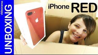 Apple iPhone 7 Plus product RED unboxing y primeras impresiones