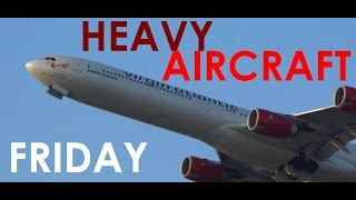 (HD) HEAVY AIRCRAFT FRIDAY!!! Big-time Airliners at Chicago O