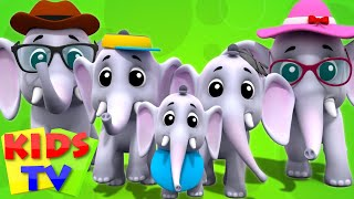 Elephant Finger Family | 3D | Kindergarten Nursery Rhymes | Collection For Children by Kids Tv