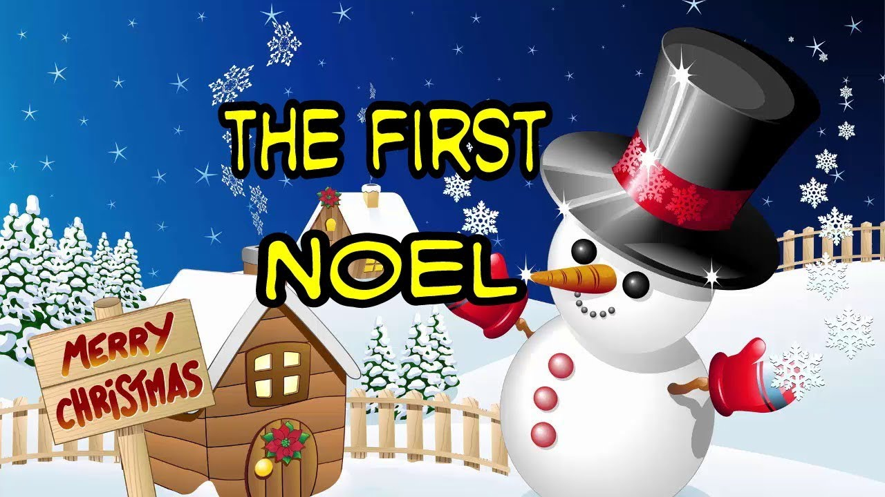 The First Noel-Christmas Song - YouTube