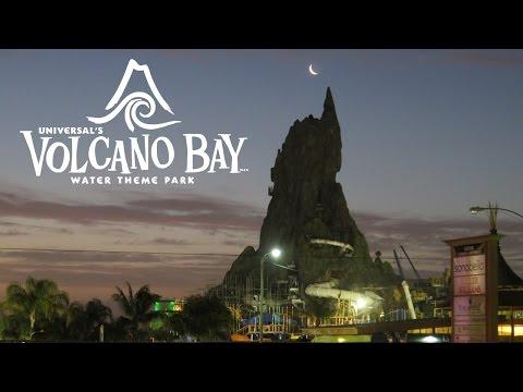 Volcano Bay Water Theme Park Construction Update Universal Orlando Resort (3/31/17)