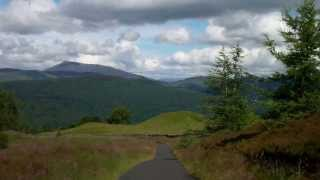 Beautiful Drive Through The Scottish Highlands Of Scotland