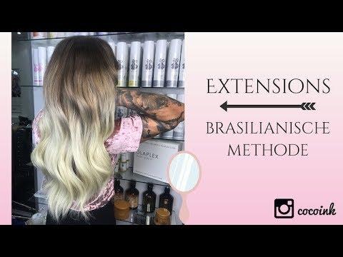Haarverlangerung schonendste methode 2017
