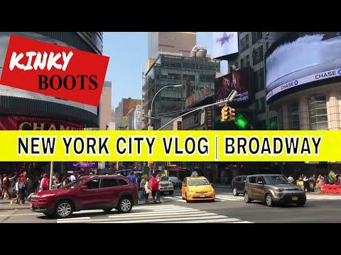 Broadway Vlog | Kinky Boots | NYC