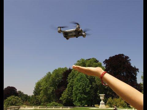 dji spark test du drone sans t l commande youtube. Black Bedroom Furniture Sets. Home Design Ideas