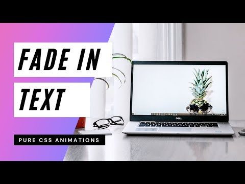 Stunning Fade In Text on Hover   CSS Animations