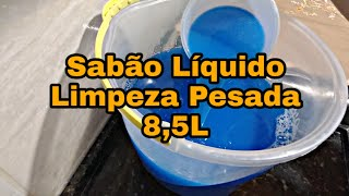 Sabão Liquido para Limpeza Pesada