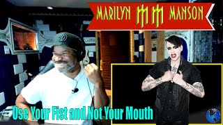 Marilyn Manson Use Your Fist and Not Your Mouth - Producer Reaction
