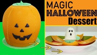 Magic Halloween Dessert - Dissolving Jack O' Lantern w/ GHOST Surprise Inside w/ Nestlé Toll House