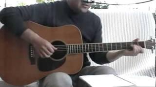 一青窈のハナミズキをギター弾き語りで演ってみました。