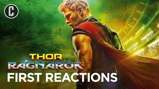 First Thor: Ragnarok Reviews Praise Laugh Out Loud Intergalactic Adventure