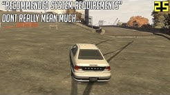 """Games Vs Their Own """"Recommended System Requirements"""""""