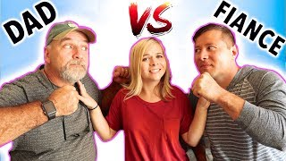 WHO KNOWS ME BETTER! 😱 (DAD VS FIANCE!) // SoCassie