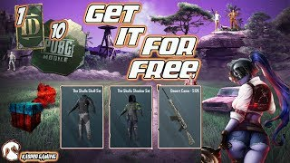 PUBG MOBILE INDIA | GET FREE SKIN & 10 COUPON CRATE & 1 RP CARD | UPDATE 0.13 |