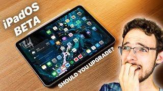 iPadOS Beta | Should You Upgrade NOW? Or Wait? | iPad Pro + iPadOS