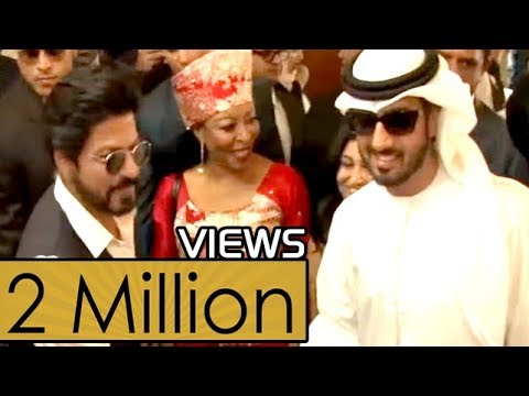 Shahrukh Khan VVIP treatment in DUBAI - 2017