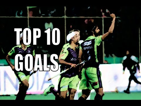 Hockey India league (HIL) 2016 ● top 10 goals ᴴᴰ