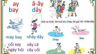 Dạy Bé Học Tập đọc Tiếng Việt Lớp 1 (Bài 34 đến bài 37)