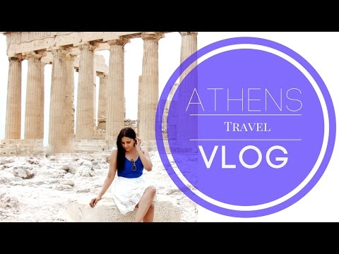 Athens Greece Travel Vlog | Angelie Sood