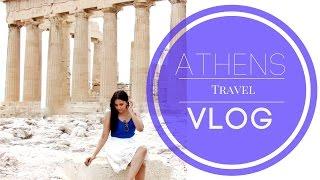 Athens Greece Travel Vlog | Angelie Sood