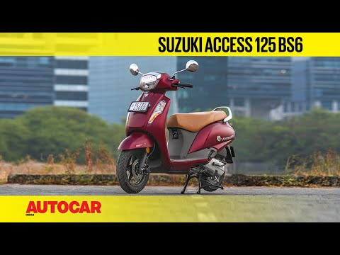 2020 Suzuki Access 125 BS6 Review | First Ride | Autocar India