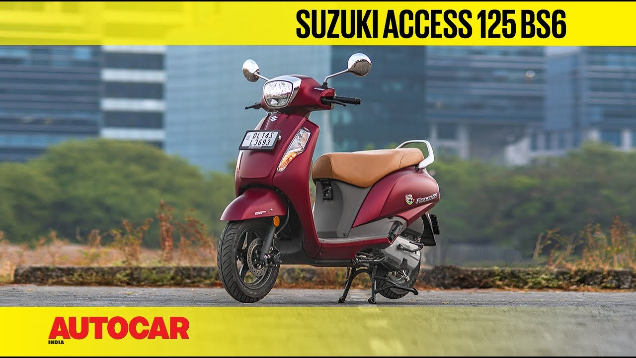 video Suzuki Access 125