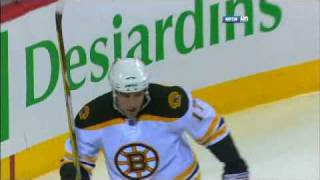 04 22 2009 George Laraque vs Milan Lucic Rough thumbnail