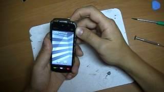 Nokia 5230 замена дисплея