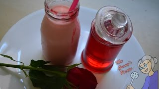 Rose Milk Syrup Recipe | Essence