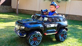 Unboxing And Assembling The POWER WHEEL Funny Paw Patrol Ride On New Police Jeep