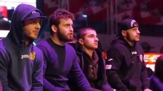 Georgian MMA fans in Tbilisi on M-1 Challenge 55, In memory of Guram Gugenishvili