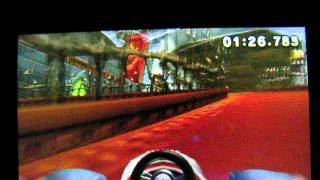 Mario Kart 7 Bowser's Castle 1′59″073 Former World Record