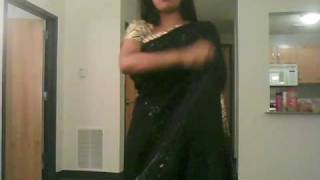 How To Wear A Saree Bollywood Style!!! Part 3